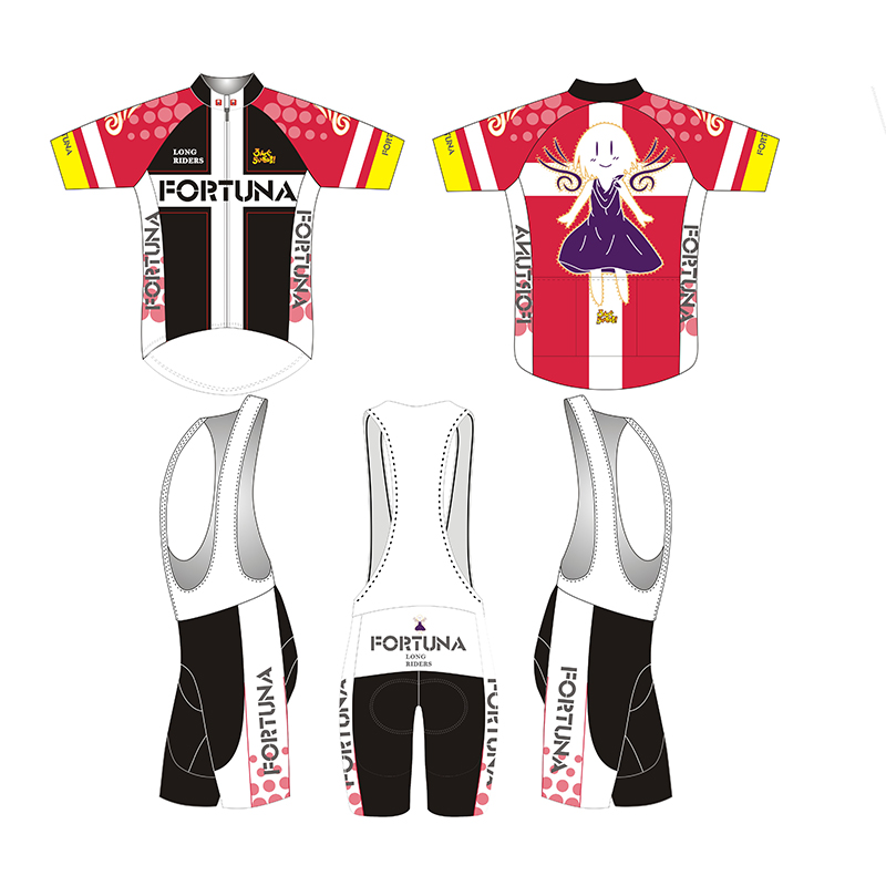 2017 short Sleeve Hatsune Miku Bicycle Cycle Clothing Mens Cycling Jersey set short Sleeve Outdoor Sports Quick Dry MTB jersey <br>