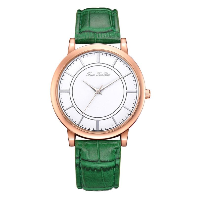 2018 High Quality women fashion casual watch luxury dress ladies  Analog Quartz Leather bands Wrist Watch clock Relogio Y11 (5)