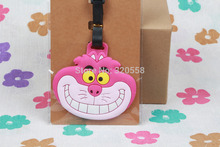 1pcs Cheshire cat bag Pendant Travel Name Tag Novelty toys