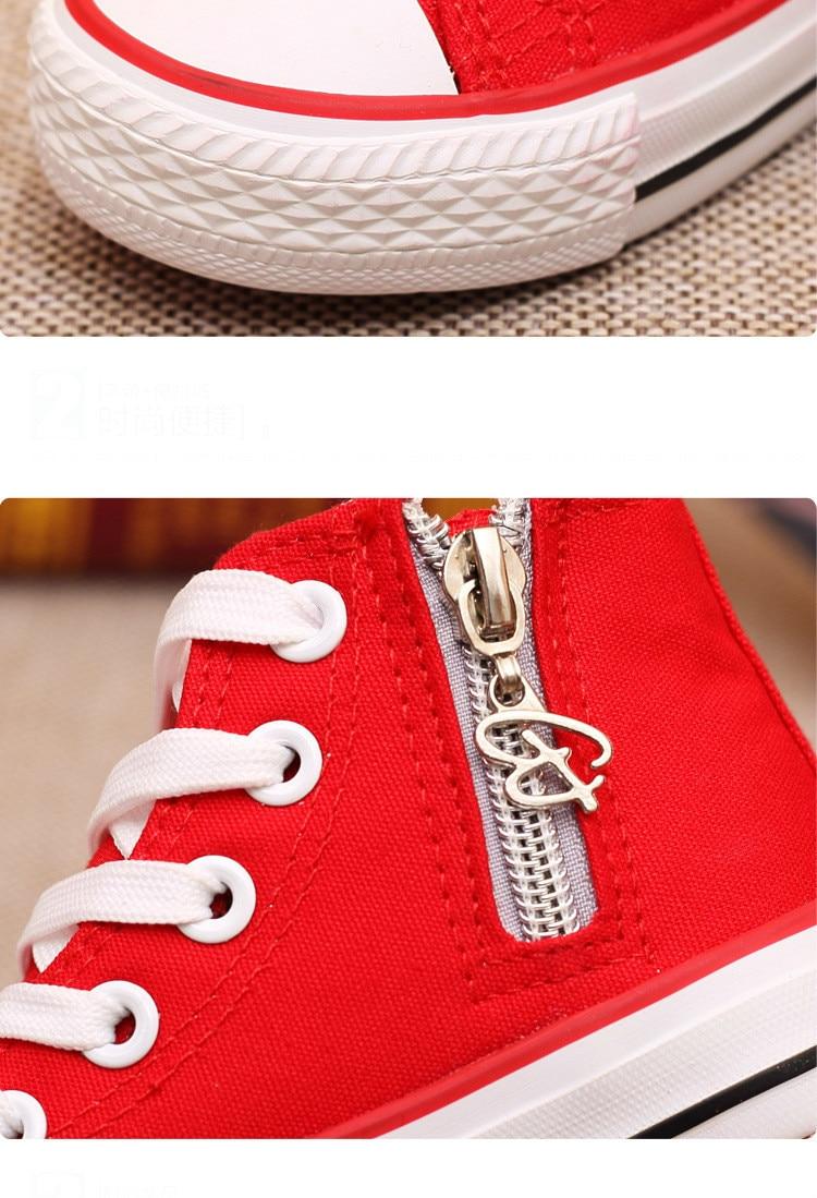 Enfants chaussures pour fille enfants toile chaussures garçons 16