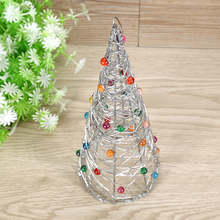 Christmas Iron Wire Tree Home Garden Ornaments Home Decoration Promotion Price(China)