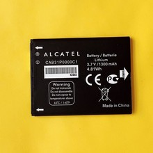 Original Battery CAB31P0000C1 For Alcatel one touch pop C3 4033D M Pop 5020 High Quality 1300mAh 3.7v 4.81wh Cell Phone Batterie