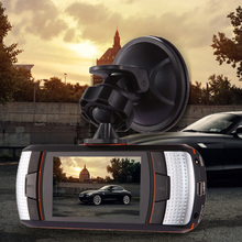 "2.7"" Car DVR Camera High Definition 30FPS Portable Video Recorder IR LED Night Vision Wide Angle Dual Lens Car-styling Dashcam"