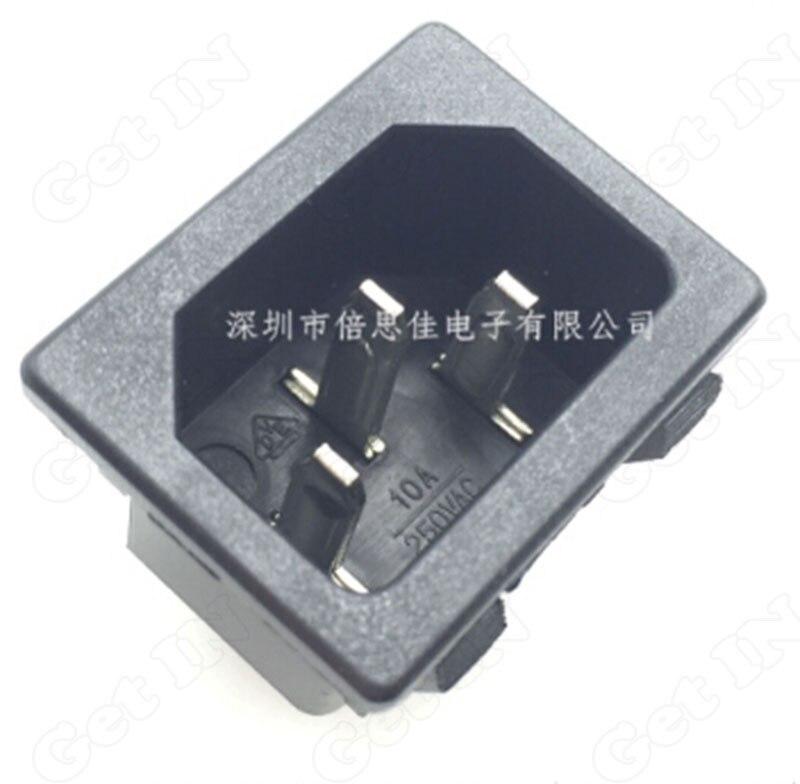 20PCS-50PCS   AC-05 Copper Pins AC DC Power Outlets Ports 3 Foot AC Power Outlet Socket Connectors High Quality<br><br>Aliexpress