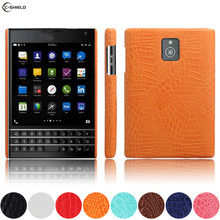 Leather Case for BlackBerry Passport Q30 SQW100 SQW100-1 Phone Bumper Fitted Case for RIM Windermere Q 30 SQW100-3 Hard PC Cover(China)