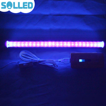 SOLLED Portable 24 LED Germicidal Ultraviolet Lamp UV Light Bar for Bathroom Kitchen Toilet(China)