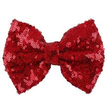 Shining Butterfly Hair Clip Sequin Bow Baby Toddler Kids Head Hair Acessories For Girls Cute Bow