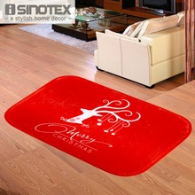 ISINOTEX Floor Mat Carpet Moose Merry Christmas Living Room Non-slip Rug For Bedroom Door Mat 40x60cm/15.6x23.6'' 1PCS/Lot(China)