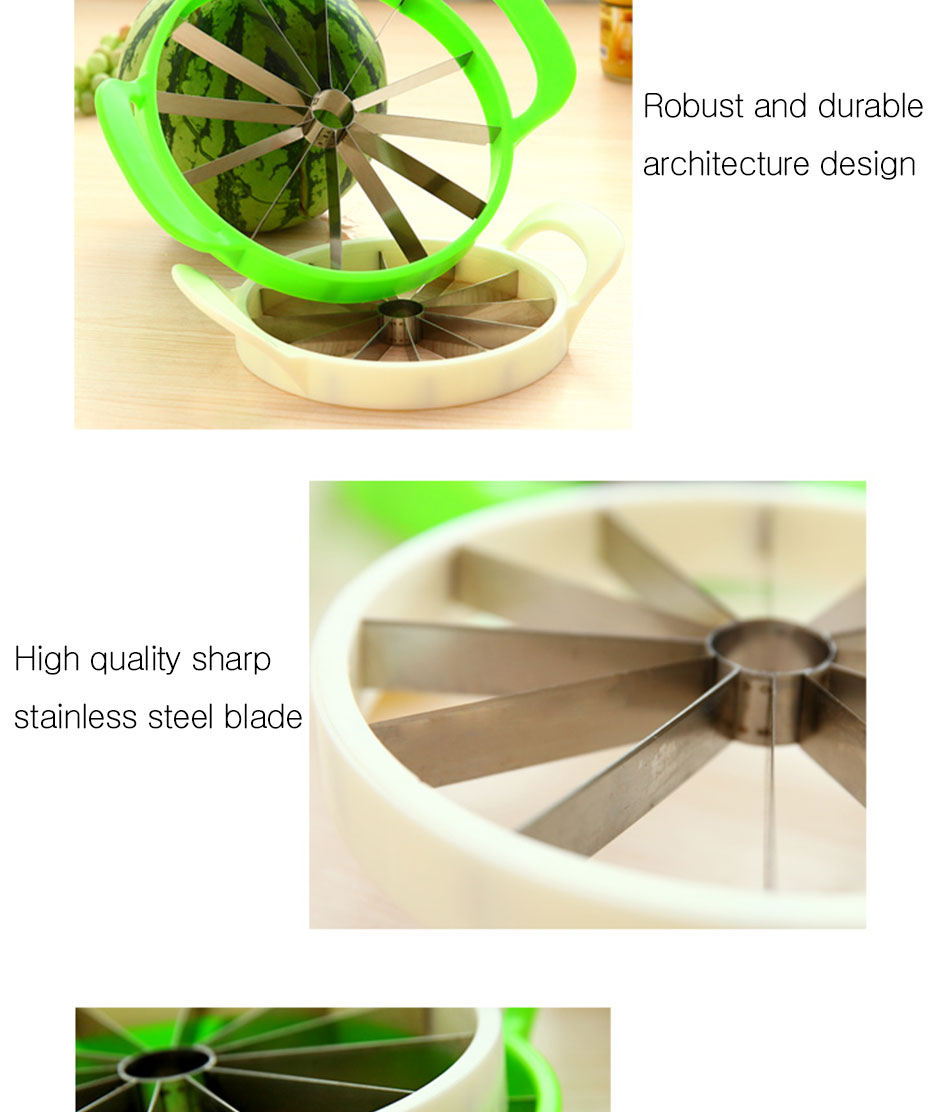 Watermelon Artifact Cut Fruit Split Function Cut Watermelon Melon Slice Cutter Convenient Kitchen Cooking Cutting Tools Cutter (9)