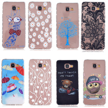 AKABEILA Cell Phone Case For Samsung Galaxy A5 2016 Cover Duos A510F A510FD A5100 A510Y A510M SM-A510F A5+ A510 Soft TPU SCAH03(China)