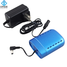 OPHIR Portable Mini Air Compressor Battery Rechargeable with Power Charger for Airbrush Compressor Charging Battery_AC079(China)