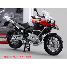 R1200GS  Metal Kit Diecast Motorbike Model Maisto Assembly Toys  1:12 Scale Model Motorcycle Free shipping