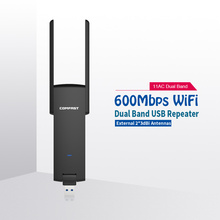 COMFAST wifi repeater 600mbps usb wifi amplifier 2.4ghz 5.8ghz wireless wi fi antenna signal booster 802.11/b/g/n CF-WR371AC