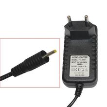 Free shipping 5V 2A Black Wall Charger Power Adapter 2.5mm US/EU Plug Adapters for android Tablet PC