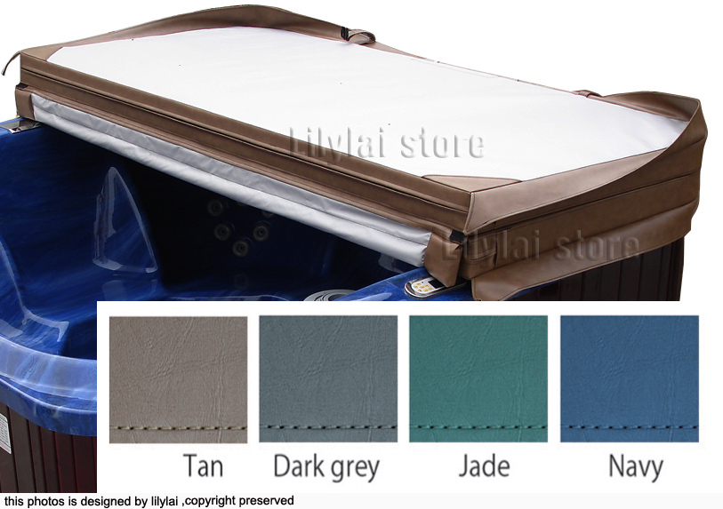 Customized spa cover skin at any size and shape, swim spa cover leather viynl(China (Mainland))