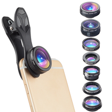 Buy APEXEL Camera Lens Kit Mobile Phone lens Fisheye Wide Angle/macro Lens 2X telephoto zoom Lens 7in1 iPhone SAMSUNG xiaomi for $18.89 in AliExpress store
