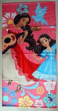1Pcs/Set New Cartoon Movie ELENA OF AVALOR Bath Towel Cotton Bathrobe Party Decorations Towels Clothes Kids Best Gift Fast Ship