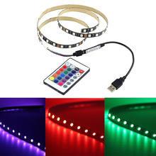 10ft 3M USB Cable Power LED Strip Light Lamp SMD 5050 Christmas Desk Decor Lamp Tape Led Strip Accessory MAYITR(China)