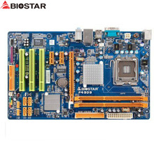 original Used Desktop motherboard For BIOSTAR P43D3 P43 support LGA 775 2*DDR3 support 4G 4*SATA2 USB2.0 ATX