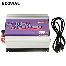 500W Grid Tie Power Inverter for 3 Phase AC Output Wind Turbine Generators MPPT Pure Sine Wave Inverter with Dump Load Resistor