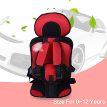 New 0-12 Years Portable Baby Car Seat Safety Seats Children's Chairs In The Car Updated Version Thickening Cotton Kids Car Seats(China)
