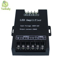 Tanbaby  DC5-24V 30A Led RGB Amplifier Controller Signal Repeater for 5050 RGB Led strip light, led module,led display