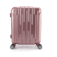 25 INCH 2125# High quality supply fashion color ABS luggage waterproof suitcase gift bags of universal wheel #EC FREE SHIPPING