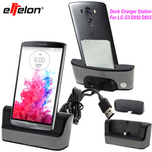 Effelon USB 2.0 Dual Sync Desktop Charging Docking Station Cradle + OTG Function For LG G3 D850 D855 Battery Charging Station
