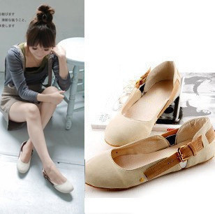 Fashion Girls Shoes Women Flats Low Top Single Shoes Spring Autumn Female Loafers B579<br><br>Aliexpress