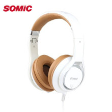 Original SOMIC P7 Professional 3.5mm Headphones With Mic Wired PC Game Gaming Headset Headphone High Quality Foldable