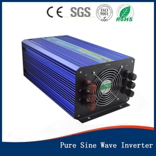 4000W DC12V/24Vinput to AC 110V/220V Pure Sine Wave Inverter Off Grid Solar& Wind Power Inverter, Surge Power 8000W PV Inverter