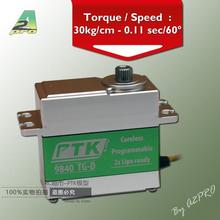 Amazing high torque and high end servo ! fast, powerfull, waterproof, ideally designed to use in R/C cars(China)