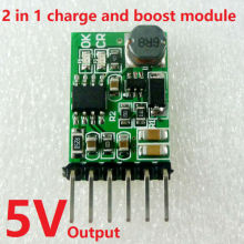 2 in 1 Charger & Discharger Board DC DC Converter Step-up Module Charge in 4.5-8V Boost out 5V for UPS mobile power diy