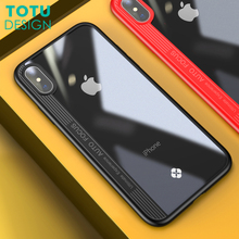 Buy TOTU Transparent Phone Case iPhone X 10 Coque Ultra Thin Slim Crystal Clear Full Protective Back Cover iPhone X Capinha for $4.59 in AliExpress store