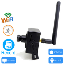 ip camera wifi 720p mini wireless security cctv wi-fi home surveillance home micro cam support micro sd record JIENU(China)