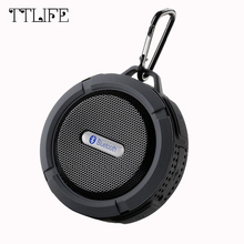 TTLIFE Mini Dynamics Column Bluetooth Speaker Loudspeaker Sound System 3D Stereo Waterproof Wireless Portable Speaker for Xiaomi(China)