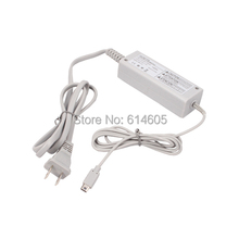 Gray US Type Home Wall Charger AC Adapter Power Supply for Nintendo Wii U Gamepad