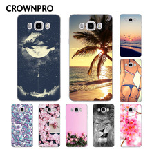 Buy CROWNPRO Soft TPU FOR Coque Samsung Galaxy J5 2016 Case Cover J510 SM-J510F Painted Phone Back FOR Funda Samsung J5 2016 Case for $1.20 in AliExpress store