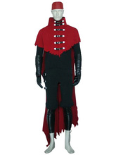 Game  Final Fantasy VII 7 Vincent Valentine Cosplay costume  Halloween Christmas role-playing party adult man outfit custom made