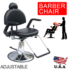 Shellhard Adjustable Reclining Hydraulic Barber Chair Shampoo Spa Beauty Salon Equipment SET(China)