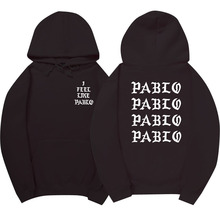 Fear Of God Paul'S Life Kanye West Pablo Hoodie Men Hip Hop Tracksuit Sweatshirts Pull Paris  I Feel Like Paul Pablo Sportswear
