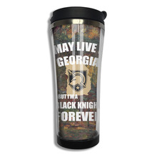Army West Point Georgia Black Knight coffee mug travel dad tazas stainless steel tumbler caneca tea Cups(China)
