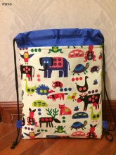 zoo animal Elephant, frog, turtle, hedgehog, owl, ladybug, dog, cat, kangaroo, reindeer, little bee, bird school bag for kids