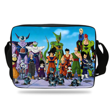 New Style Children Cartoon Messenger Bag Dragon Ball Shoulder Bag For Kids Girls Wukong Boys Messenger School Bags For Students