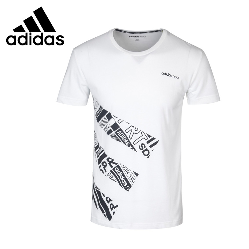 Original New Arrival 2017 Adidas NEO Label 3S AOP T Mens T-shirts short sleeve Sportswear  <br>