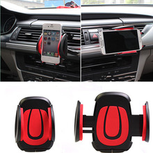 car-styling Vehicle mounted mobile phone tuyere type bracket car  accessories for Audi a4 a3 q5 q7 a5 b6 b8 a6 c5 b7 bluetooth