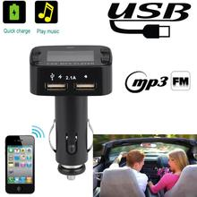 Car MP3 FM Transmitter Wireless Radio Adapter USB Charger MP3 Player Car Stereo with Remote Control Car Accessories