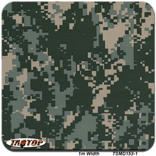 TAOTOP 1m*10m TSA153-1 Camo Green 3D Digital Camouflage Pattern Water Transfer Printing Film Hydrographic Films