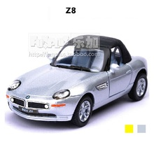 High Simulation Exquisite Model Toys: KiNSMART Car Styling Z8 Sports Car Model 1:36 Alloy Car Model Excellent Gifts(China)
