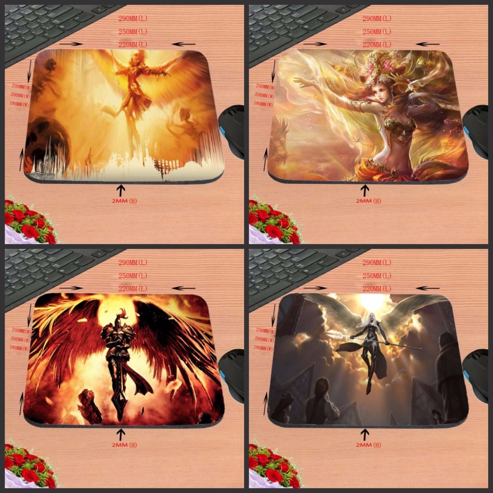 Magic The Gathering Angel New Arrival Top Quality Customized Gaming Durable Mouse Mat PC Computer Mouse Pad Laptop Mat to Mouse(China (Mainland))